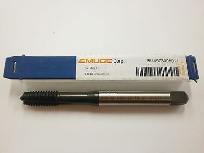 Emuge 38-16 Spiral Point Multi-tap 2b3b High Performance Germany Bu4973005011