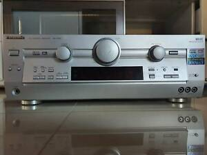 Home theatre: Panasonic Receiver, Speakers and Subwoofer