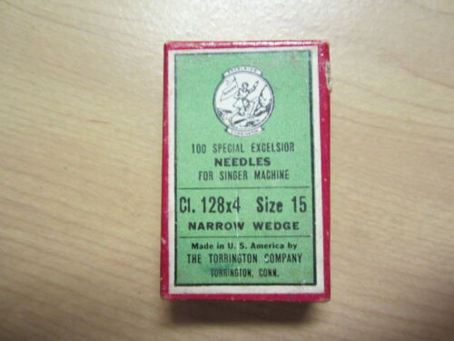 100- 128x4 NW Leather Sewing Machine Needles sz 15