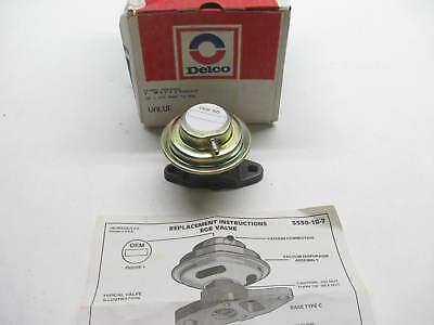 Acdelco 17119037 Egr Valve Universal For Various Amc Gm Cars Trucks