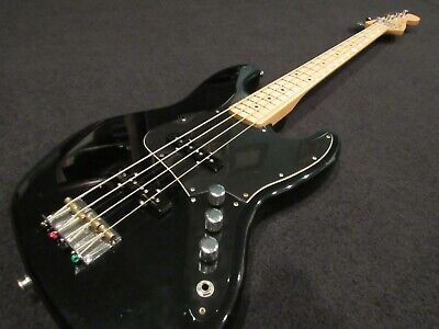 2008 Fender Standard Jazz Bass Black w/ 2018 Standard Jazz Maple Bass Neck