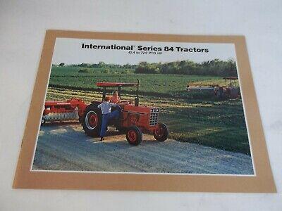 1983 International Series 84 Tractors Brochure Models 884 784 684 Hydro 84 584