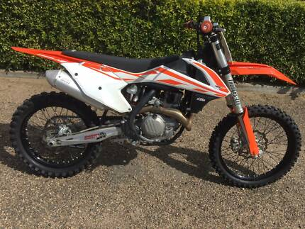 2017 KTM 450SXF Moree Moree Plains Preview