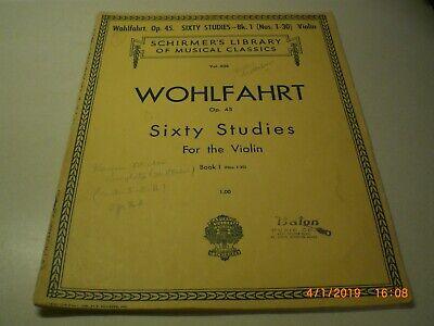 String Instruments - Studies For Violin