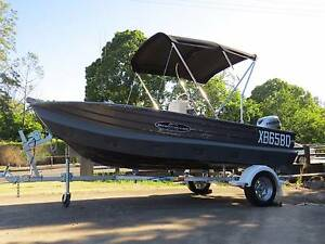 4.3m Savage Gannet, centre console + Kapten Boat Collar Nambour Maroochydore Area Preview