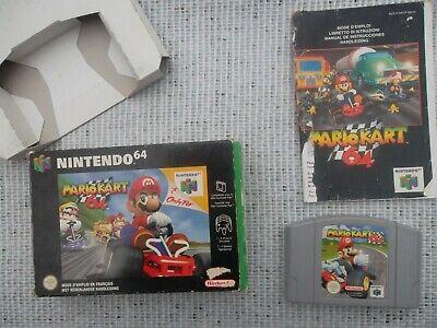 Jeu Nintendo 64 / N64 Game Mario Kart 64 Complet PAL Fah CIB genuine original*
