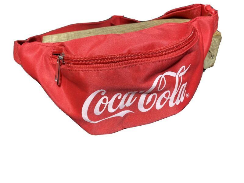 COCA - COLA Red Waist Fanny Pack Money Pouch