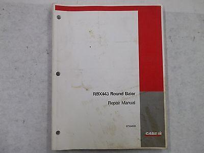 Case Ih Round Baler Model Rbx443 Repair Manual
