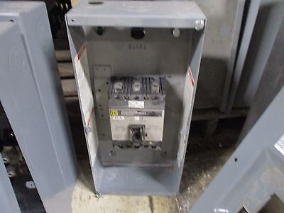 Square D Enclosed Circuit Breaker Fal34040 40a 600v Missing Cover Screws Used