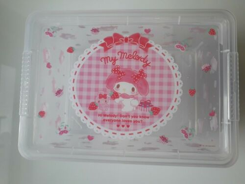 Sanrio My Melody Clear Storage Box