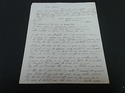 Autographed Letter Signe by D.B. Hart to Lyman