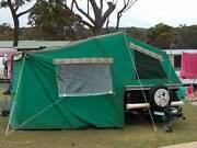 Cavalier camp trailer Hughes Woden Valley Preview