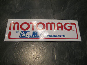MONGOOSE BMX STICKER OLD SCHOOL BMX MONGOOSE MOTOMAG BMX STICKER ORIGINAL 80S