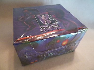 1995 Wildstorm Gallery Comic Book Unopened Trading Card Pack Box.