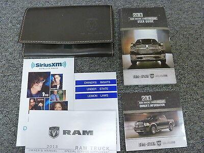 2013 Dodge Ram 2500 3500 Gas Pickup Truck Owner Manual ST Tradesmen SLT Laramie