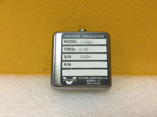 Vectron Laboratories 271-8368 10 MHz, Precision Crystal Oscillator. New!