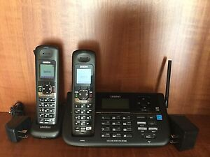 2 - Line Cordless Phone with Handsets