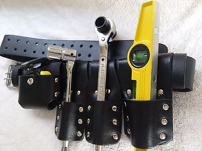 Scaffolding Black Leather Tool Belt Good Full Tools Best Quality 1721 Ratchet
