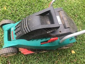 Bosch electric mower Chelmer Brisbane South West Preview