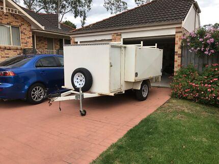10 x 5 box mowing trade trailer