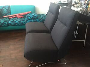 2 Modern Lounge Chairs - Perfect Condition