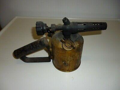 Infos 1887-1965 Petroleumbrenner.. Alte Lötlampe G Barthel