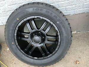 """20"""" winter rim and tire package Ram Chev GMC Ford f150"""