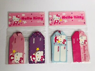 Hello Kitty Gift Tags Rare New Sealed, Gift Wrap, Tags, Gifts Sanrio (Hello Kitty Gift Wrap)