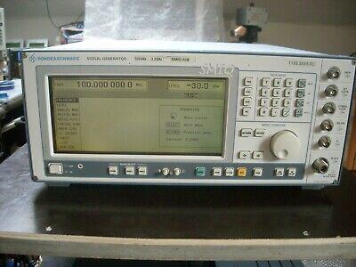 Rohde Schwarz Smiq03b Vector Signal Generator 300 Khz - 3.3 Ghz