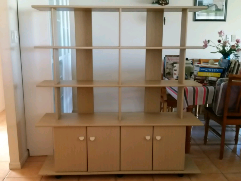 Display cabinet wall unit | Cabinets | Gumtree Australia Brisbane ...