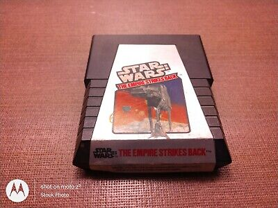 Atari 2600 Game Cartridge Only Tested Star Wars The Empire Strikes Back Ships Fa