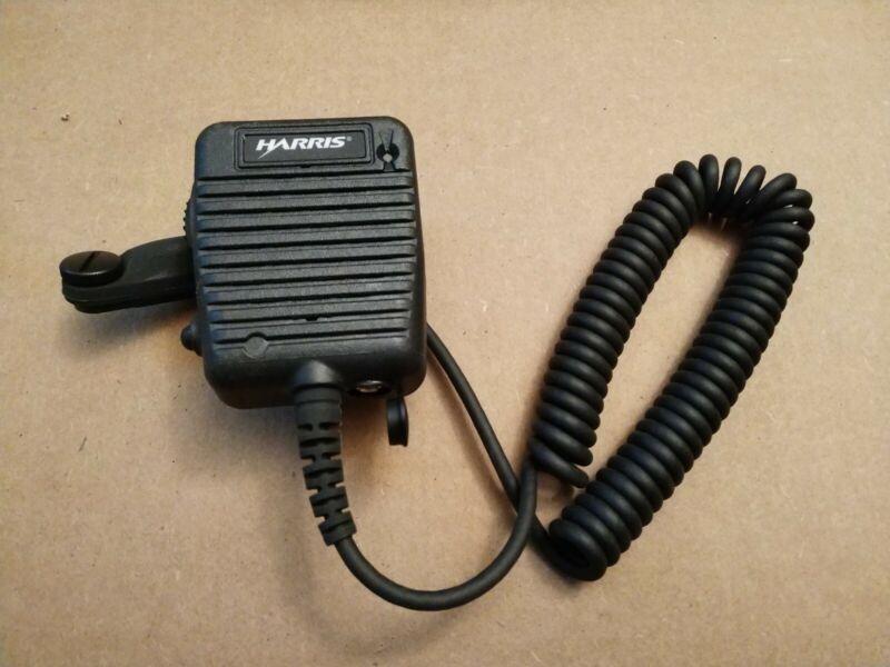 NEW Harris UNITY XG-100P VHF UHF 7/8 Full Spectrum Portable Radio Speaker Mic