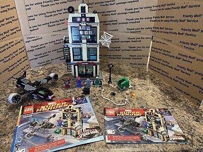 LEGO Marvel Super Heroes Spider-Man Daily Bugle Showdown (76005) READ