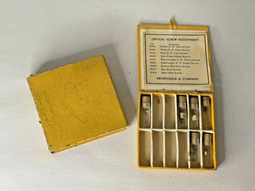 Vintage Box Optical Screw Assortment Eyeglass Repair Swartchild & Co.