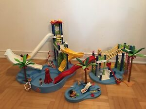 Playmobil parc aquatique #6669-6670-6673