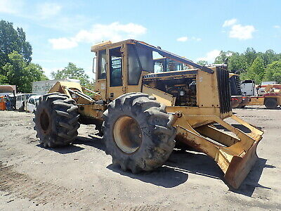 2000 John Deere 648g Series Ii Log Skidder Nice Rebuilt Engine 648 Grapple