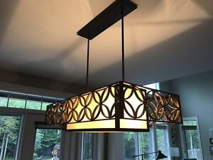 Ceiling light - kitchen table
