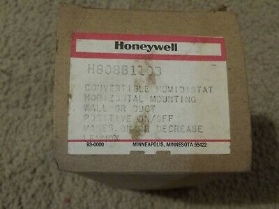 Honeywell H808b1103 Convertible Humidistat Lennox Makes On Rh Decrease