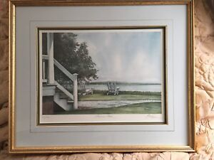"""Summer Place"" - framed Barry Honowitz print"