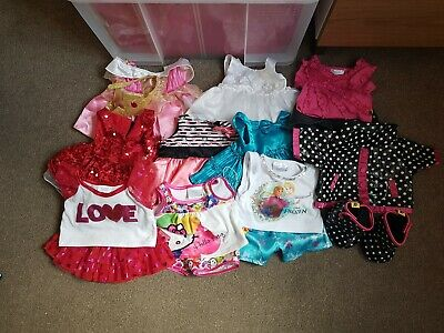 Build a bear clothes bundle girl including Frozen and Disney Princess