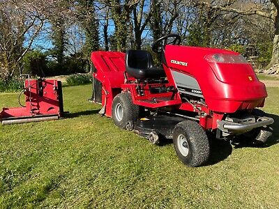 Countax C300H Ride on lawn mower 16 HP Honda V twin with Sweeper and Scarifier