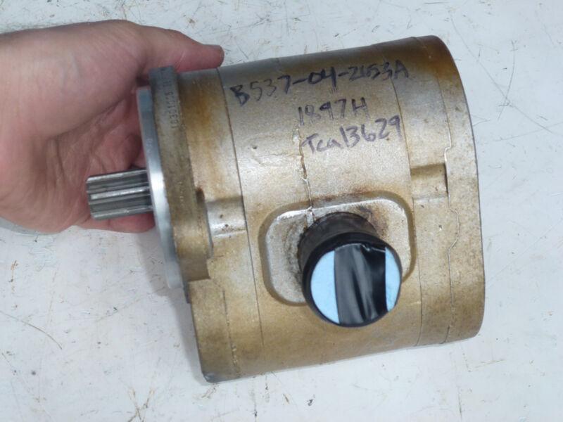 Hydraulic Reel Gear Pump TCA13629 John Deere 2653A Reel Mower