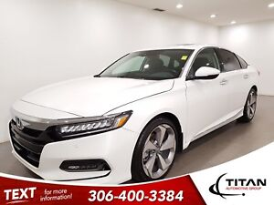 2018 Honda Accord Touring|CAM|Leather|Sunroof|NAV