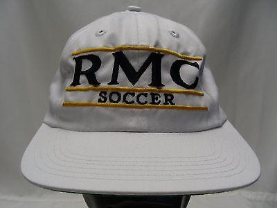 RMC SOCCER - RETRO BAR - THE GAME - ADJUSTABLE SNAPBACK BALL CAP HAT!