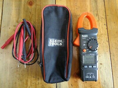 Klein Tools Cl210 400amp Ac Auto-ranging Digital Clamp Meter Wtemp Bnfs