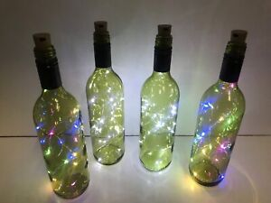 Wine bottle decoration lights - ONLY $10! Newcastle Newcastle Area Preview