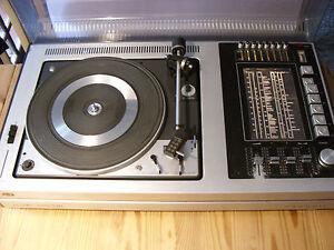 Grundig studio 2000 hifi 4D-Dual 1226 Plattenspieler läuft