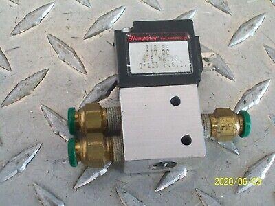 NEW Humphrey HA180-4E1-39 24VDC Solenoid Air//pneumatic Valve  NEW