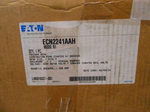 EATON ECN2241AAH COMBO FVNR NEMA SZ 4 STARTER new an16nnoa