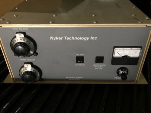 Manitou Systems Inc  Rf Power System Series Pb-3 Nykar Technology Inc
